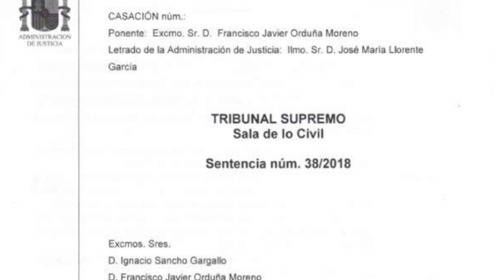 Cláusula suelo en supuestos de subrogación. Nueva sentencia del Tribunal Supremo.